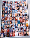 "Marilyn Monroe Poster -100 Picture Collage - 33"" x 36"" - Unframed"