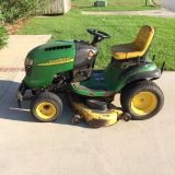 $500, John Deere L130 Riding Mower 48 Cut