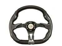 Sell YAMAHA GOLF CART OFFROAD STEERING WHEEL (Blk/Blk) w/Adp motorcycle in Hanover, Indiana, US, for US $99.95