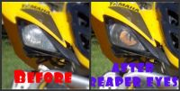 Sell YAMAHA RAPTOR Wolverine REAPER HeadLight Covers RUKIND COVERS motorcycle in Medina, Ohio, United States, for US $18.00