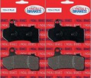 Sell LYNDALL LRB LLC Z-PLUS 7254 BRAKE PADS FOR HARLEY Bagger/Touring/VROD/2008-2013 motorcycle in Canoga Park, California, US, for US $83.00