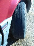 set of four 21570r15 tires and rims