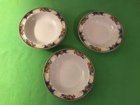 Set of Three (3) Pretty 6 Bowls. Tiny Chip in One (Photo Attached)