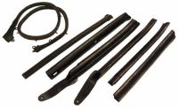 Purchase Convertible Roof Rail Weatherstrip Set - 1966-67 Chevelle-SS, Pontiac GTO motorcycle in East Windsor, Connecticut, United States, for US $159.00