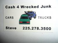 PAYING  CASH  $$$   4  junk  VEHICLES   ((BR)area)