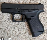 For Sale: Glock 42 .380 with holster