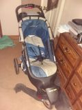 Baby stroller jeep