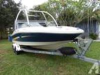 SEA RAY 195 SPORT boat, few hours of use, clean and beautifull