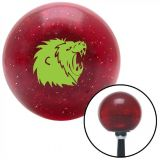 Sell Green Lion Red Metal Flake Shift Knob with 16mm x 1.5 Insert dune buggy camper motorcycle in Portland, Oregon, United States, for US $29.97
