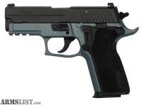 For Sale: Sig Sauer P229 9MM NIT/BLUE TIT 15+1 NS* E29R-9-BTF BLUE TITANIUM FRAME *LEO SALE ONLY*