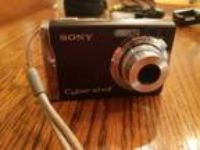 Sony Cyber-shot DSC-W90 8.1 MP Digital Camera - Black