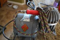 1960s Paasche airbrush and compressor