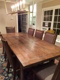 Dining Table & 10 Chairs (Upholstered)