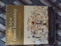 ART OF CREWEL EMBROIDERY BOOK Mildred J Davis JACOBEAN