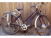 GIANT ALMOST NEW ELECTRIC BICYCLE, WITH BATTERY, ...