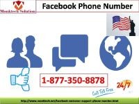 Get Supreme Services For Facebook Phone Number Issues 1-877-350-8878