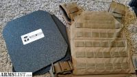 For Sale: Grey Ghost Plate Carrier with AR500 Plates
