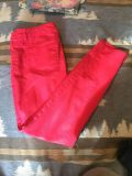 Mossimo Size 11 fit 6 Magenta skinny jeans