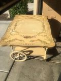 Antique Rolling Cart (Beautiful Accent Piece)