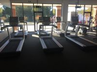 (3) SK Fitness Commercial Treadmills RTR#7103169-01,04