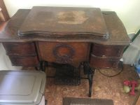 Vintage Rotary Florence Sewing Machine & Table