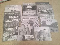 17 early reader books level A and B