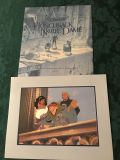 Disney Lithograph - Hunchback of Notre Dame
