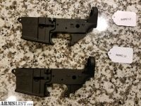 For Sale: Two Anderson AR15 Lowers