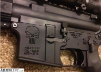 For Sale: Spikes Tactical Punisher AR-15 With Spiral Fluted Stainless barrel and 3-9x40 Scope