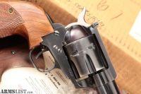 For Sale: Ruger Old Model Blackhawk 3 Screw Flattop & Transfer Bar Safety, Blue & Black 6 Single Action Revolver, Box & Parts, MFD 1959 C&R