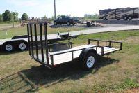 2015 H&H 5X12 ATV TRAILER Utility Trailers Ottumwa, IA
