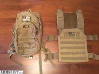 For Sale/Trade: Plate Carrier Vest & Assault Pack