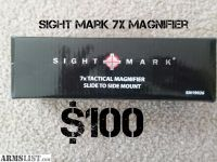 For Sale: Lucid 5x & sight mark 7x magnifiers
