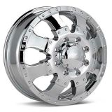 """Sell 17""""Ultra Goliath Dually Chrome Wheels Dodge 2500 3500 motorcycle in Victorville, California, US, for US $1,472.00"""