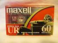 "Maxell UR 60m 90m Audio Cassettes BRAND-NEW - ""Great for any"