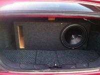 Custom 12 Mustang Subwoofer Box