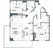 $8310 2 apartment in Miami Lakes