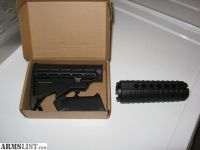 For Sale: Smith & Wesson M&P 15 buttstock, pistol grip, and handguards