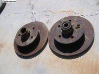 VW Vanagon front brake rotors 86 - 91 yr