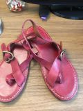 Lucky Brand Sandals Red Size 8