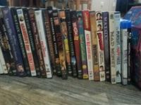 assortmant od dvds all sold together and 40 total