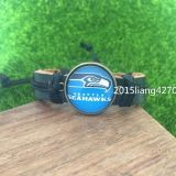 SEATTLE SEAHAWKS (Traditional Logo) Rugby Style Bracelet *** NEW ***