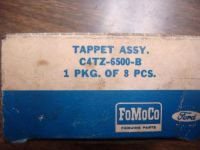 Find NOS 1964 FORD MUSTANG FAIRLANE FALCON GALAXIE V8 TAPPET SET HYDRAULIC LIFTER motorcycle in Fresno, California, United States, for US $7.50