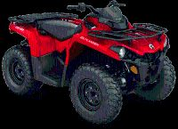 2018 Can-Am Outlander 450 Utility ATVs Eugene, OR