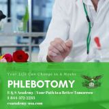 E & S Academy is offering Phlebotomy Training in 4 weeks