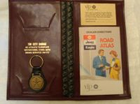 Purchase NOS CHRYSLER DODGE PLYMOUTH MANUAL BOOKLET ATLAS VIP KEY CHAIN FOB POUCH MOPAR motorcycle in New Fairfield, Connecticut, US, for US $19.99