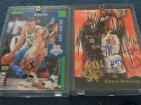 Cards: Autographed-J.Kidd & A.Mourning
