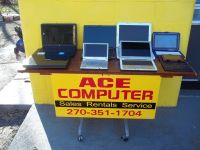 ACE COMPUTER WILL TRADE COMPUTERS FOR RIDING MOWER (working or non working)
