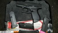 For Sale: Glock 42 private party with holster and 4 magazines