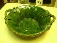 Vintage Handcrafted Heavy Italian Pottery Bowl